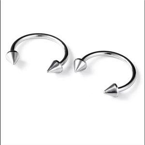 Titanium Spike Earrings